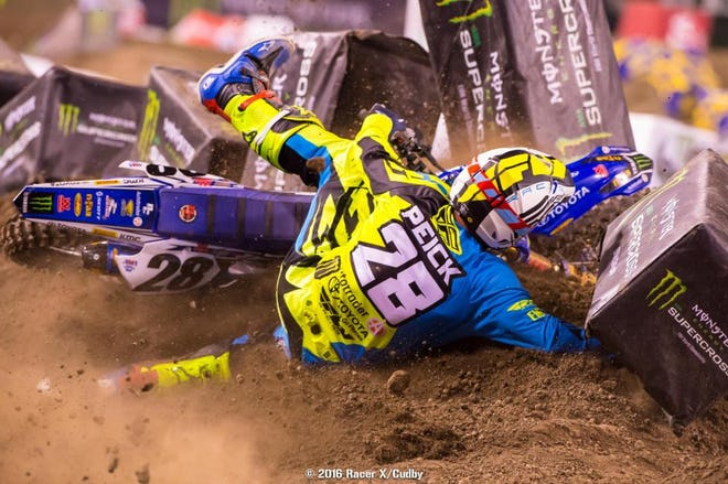 The first of Peick's run-ins with Friese.