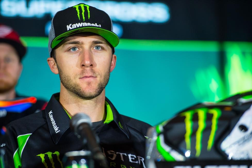 Tomac finished a solid fourth at the opener.