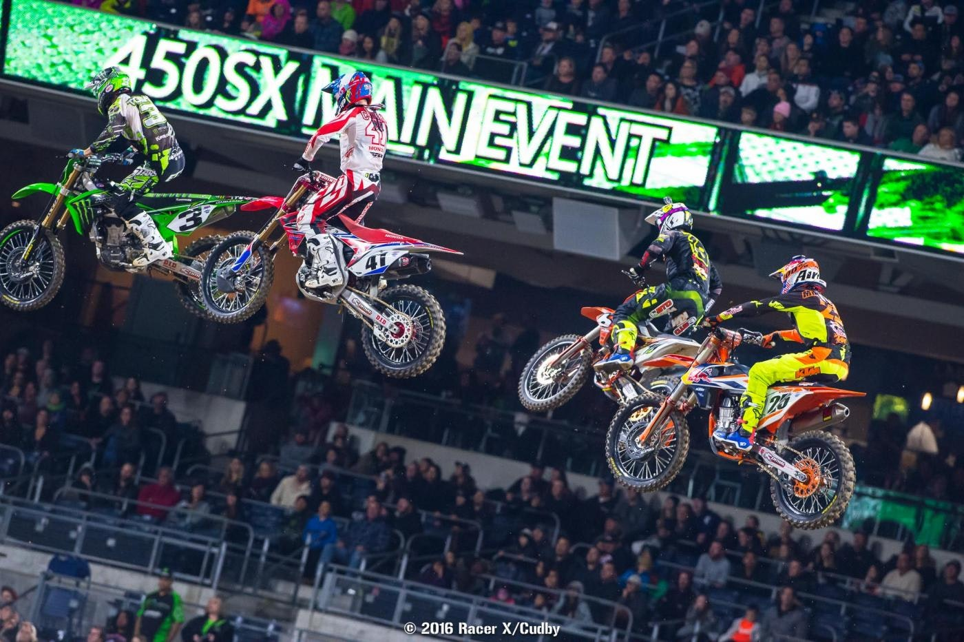A lot of talent in this 450 field.