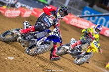 Reed and Roczen battle early in the main.