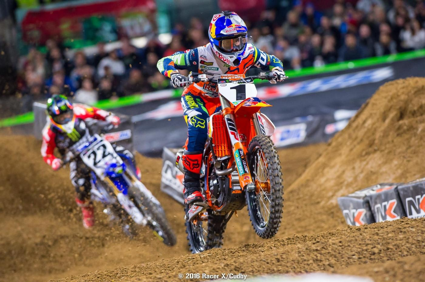 Win number 1 for Ryan Dungey on the young season.