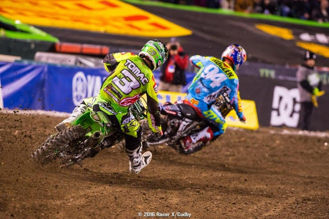 These dudes rode well but never had a shot at Dungey after bad starts. Tomac has had starting issues before, but Roczen was lights out off the line at this time a year ago. They need to figure it out quickly!