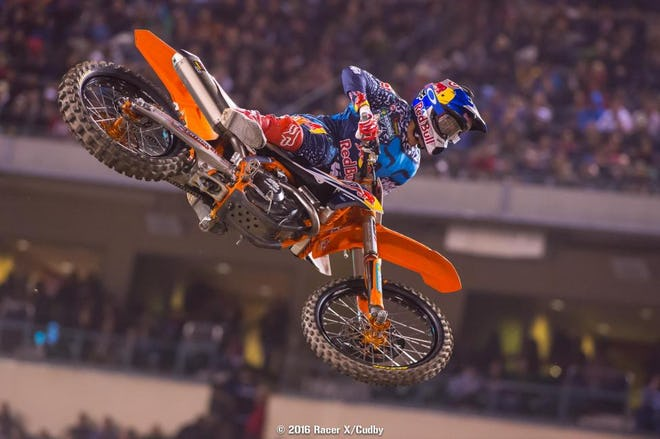 When Ryan Dungey is getting aggro like this, and still his usual consistent self, he's looking nearly impossible to beat.