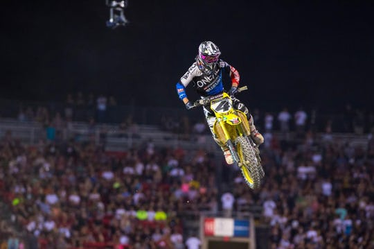 Baggett's last race was Monster Energy Cup.