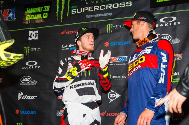 Savatgy (left) holds the points lead entering Round 5. Meanwhile, Christian Craig is looking for a third straight podium.