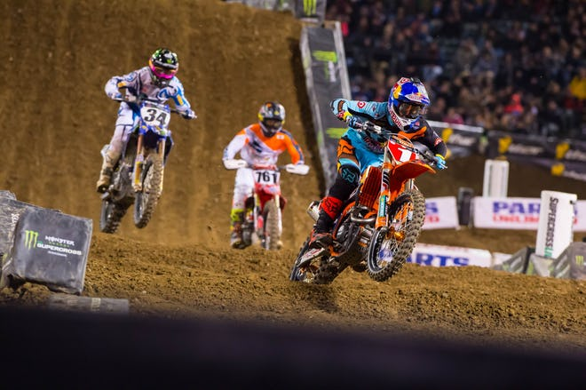 Dungey has been on fire recently.