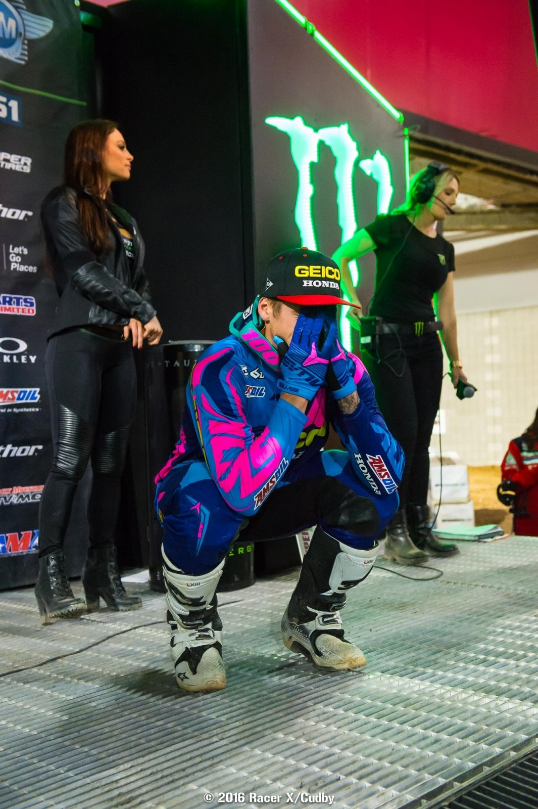 Craig once left the sport, but has now returned better than ever. This marked his first-ever race win, and you could tell how much it meant to him.