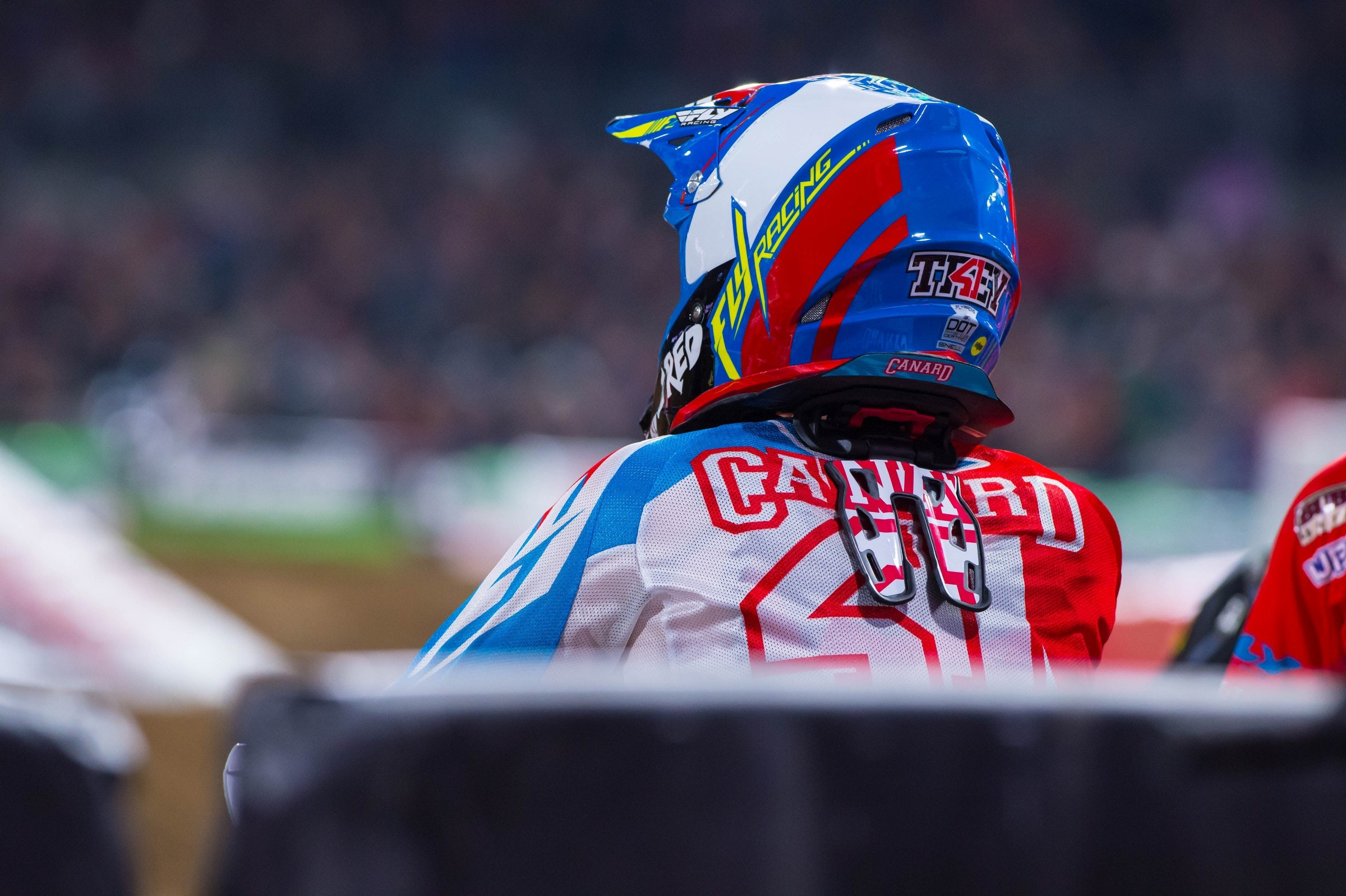 Canard was solid in his return last week. Can he snag a podium this weekend?