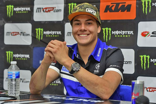Guillod moves to MXGP in 2016.