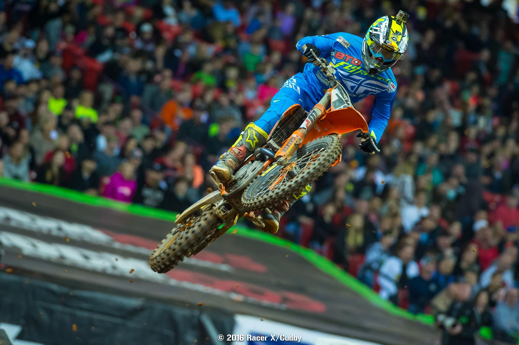 Davi Millsaps was ailing...and pulled off his best finish of the season with fourth.