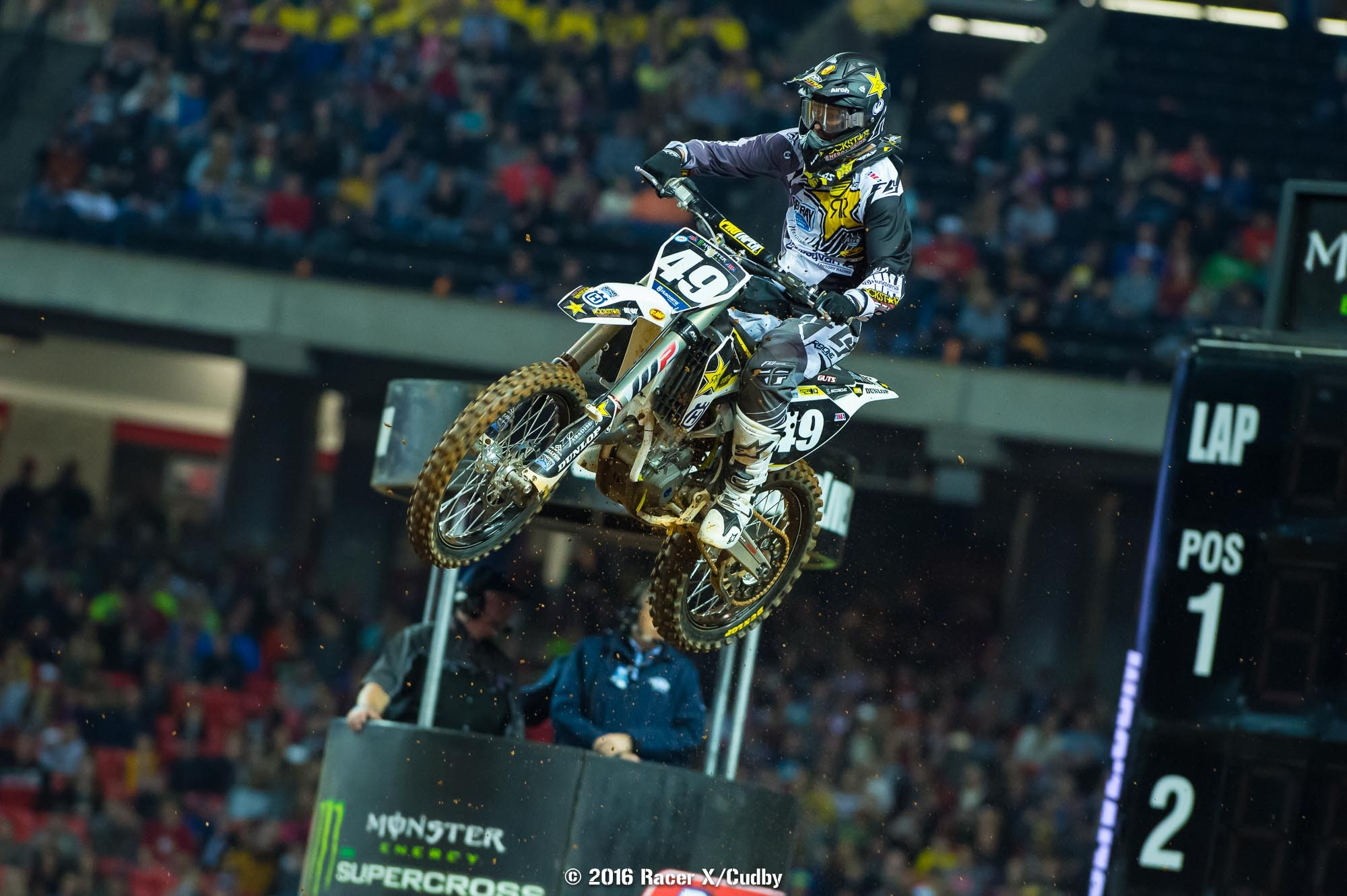 Davalos rode effortlessly up front and controlled the race to the end.