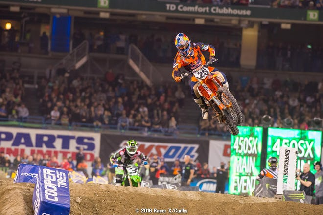 Roczen? Musquin? Tomac? Dungey? It changes every week!