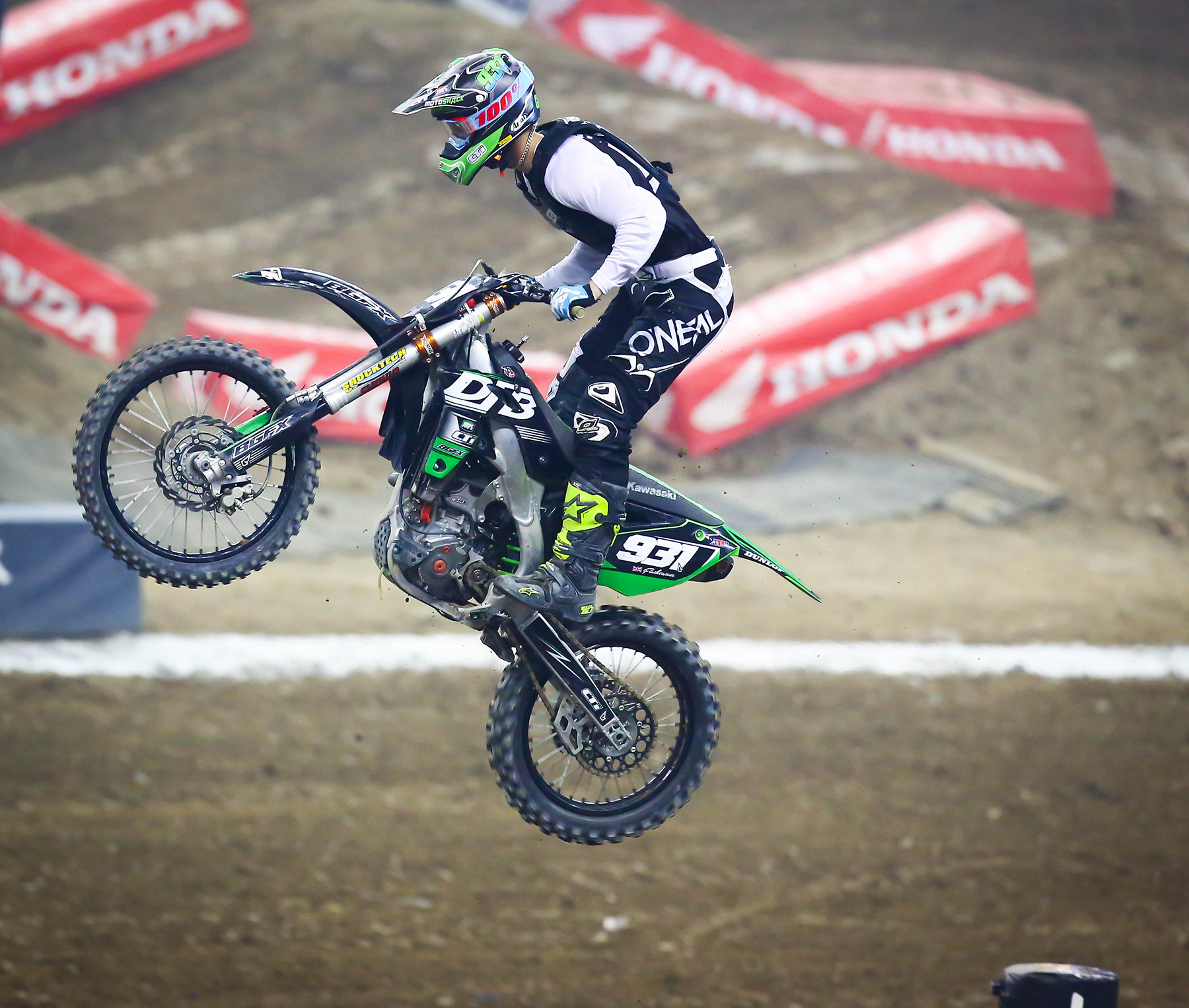 Supercross Ford Field: A Dog's World: Detroit