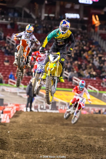 Sooner or later James Stewart is going have a good race in 2016. It just didn't happen in Santa Clara.