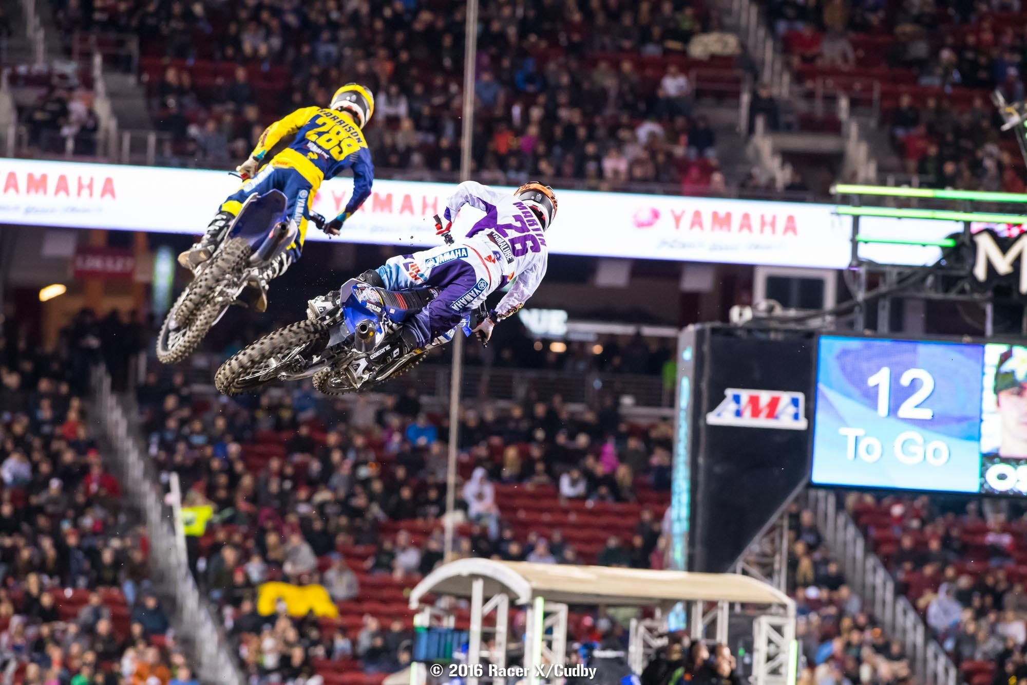Both Mitchell Harrison and Alex Martin looked great, and if they hadn't gone down there could have easily been three Star Racing riders in the top five.