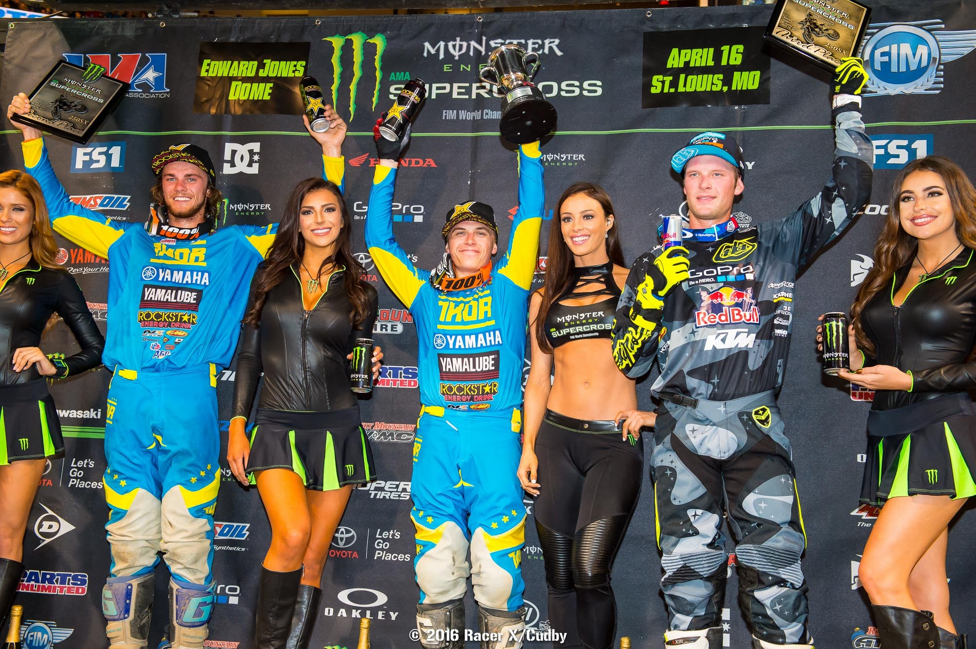 Aaron Plessinger now sits just a single point out of the 250SX East lead behind Malcolm Stewart.