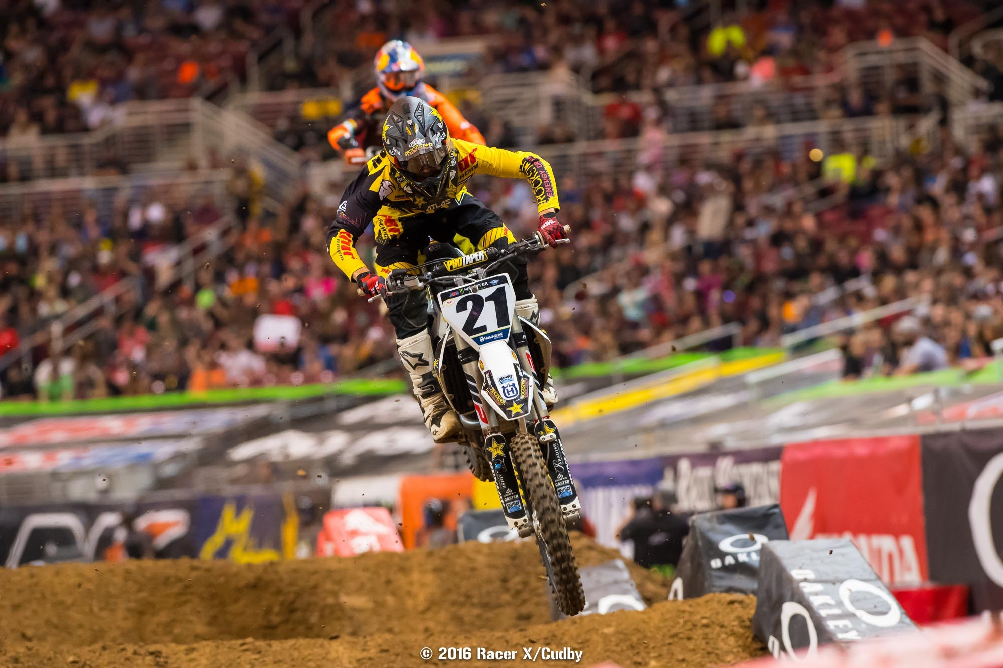 Jason Anderson hasn't made very many friends on the track this year.