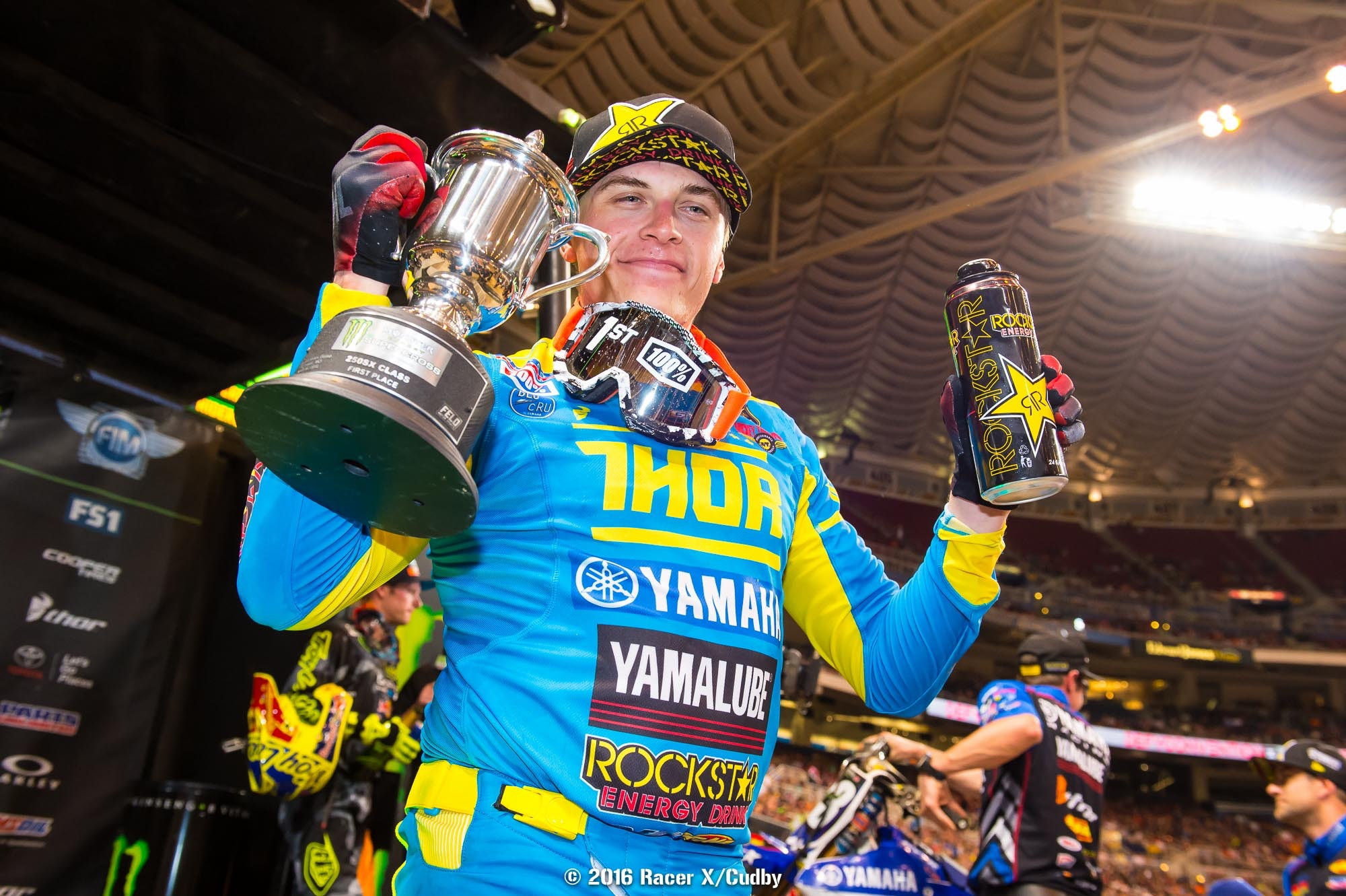 Martin isn't going to win a 250SX championship, but he can still win a few more races in 2016.