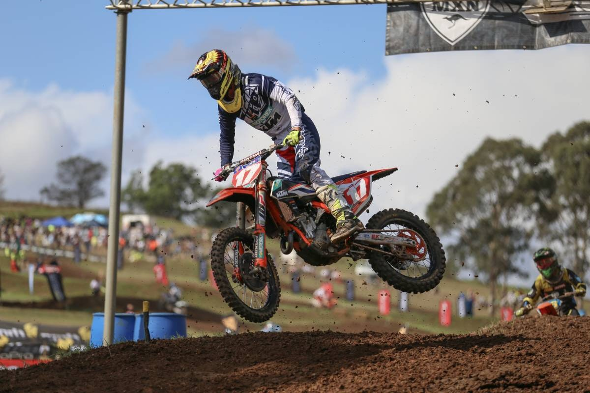 Caleb Ward took MX2.