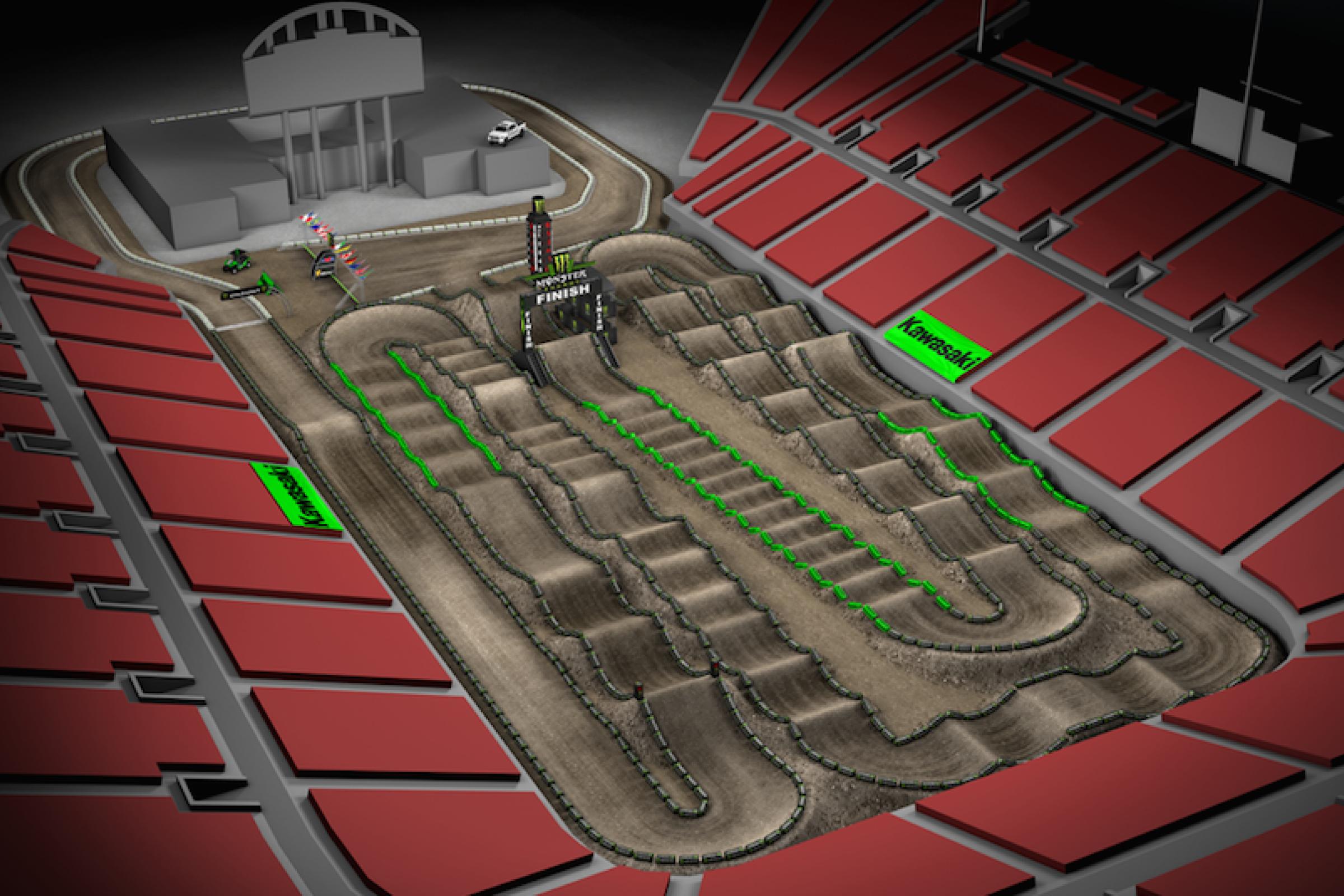 Animated Track Map Las Vegas Sx Supercross Racer X Online