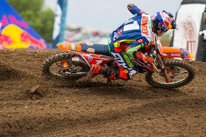 Dungey has won at every single track except for Hangtown.