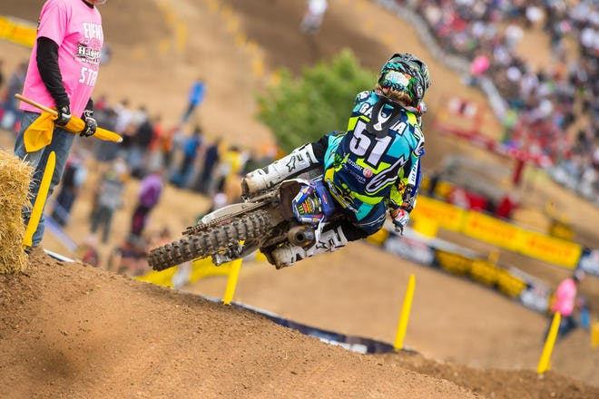 Justin Barcia is looking to start over after being injured for much of supercross.