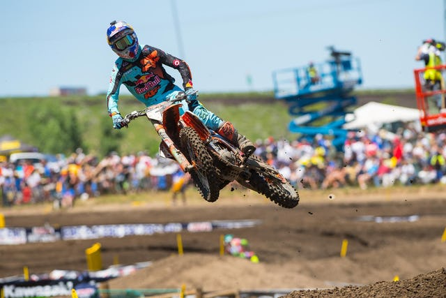Dungey's got a fight on his hands this summer.