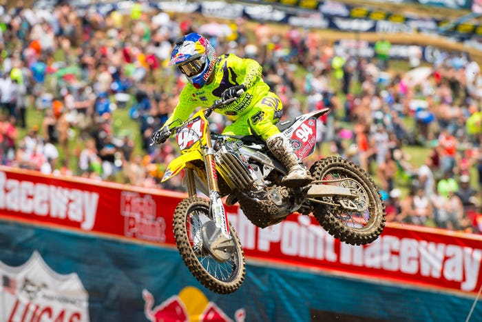 Roczen went 1-1 for his third overall win on the season.