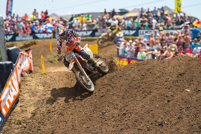 Musquin collected his first career 450 podium at High Point.