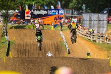 Roczen and Tomac went at it all day.