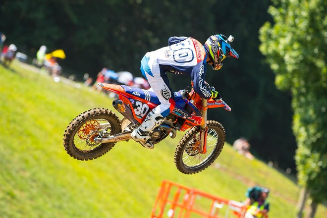 For awhile it looked like he was headed to his first-ever moto and overall win.
