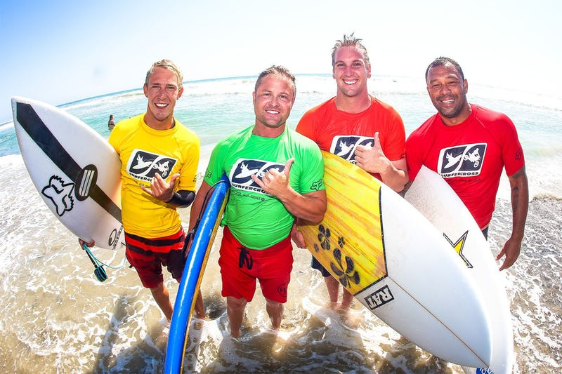 Ping and Dylan Lightfoot won the surfing day, but Sunny Garcia and Ricky Yorks were the overall champions.
