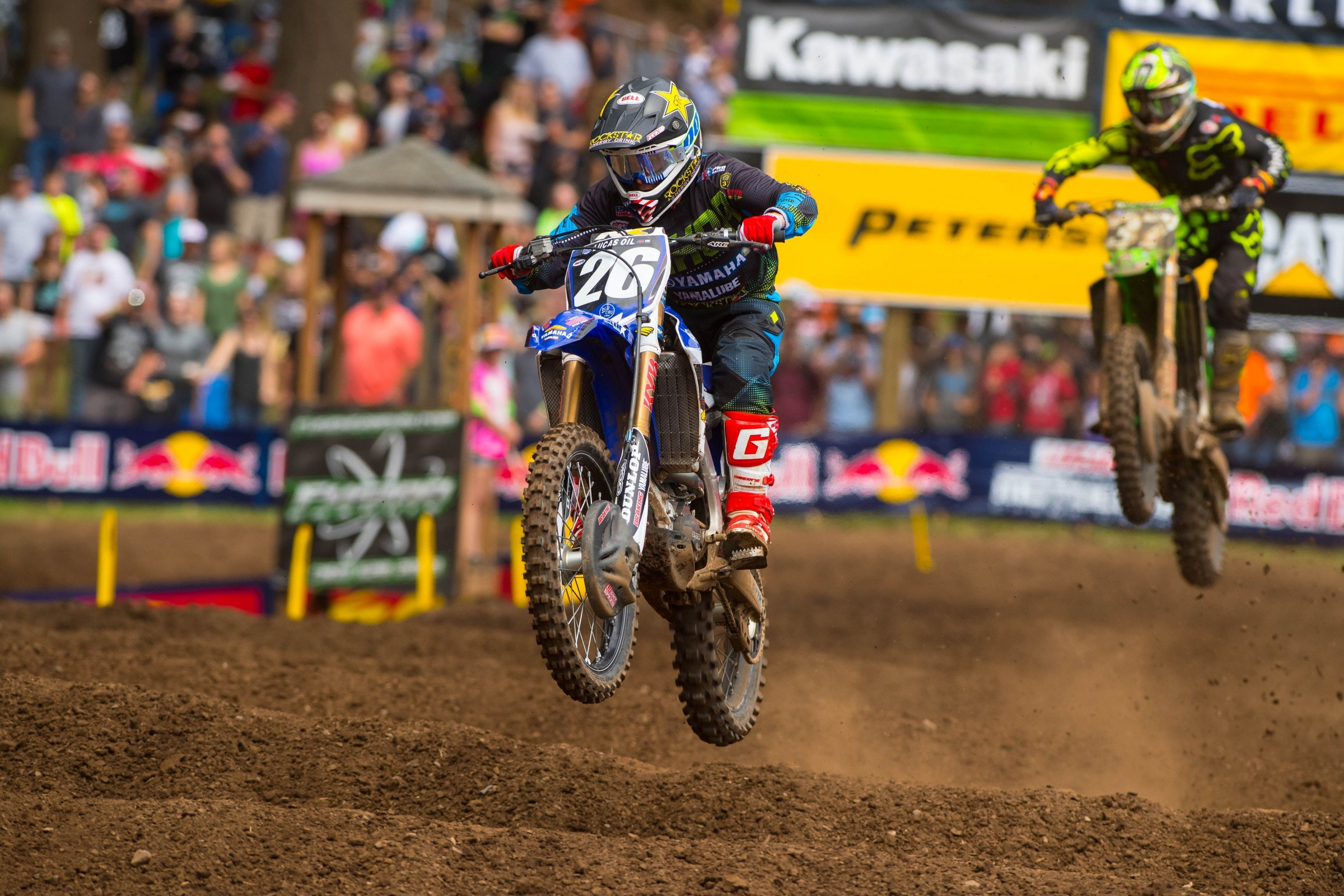 Alex Martin goes for a second straight overall this weekend.