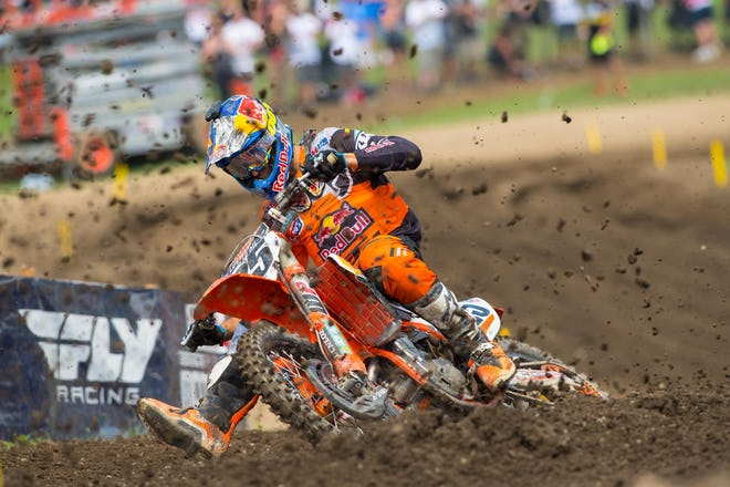 The Marv attack was strong at Unadilla, beating Tomac in a straight-up fight in moto two to lock down second overall.