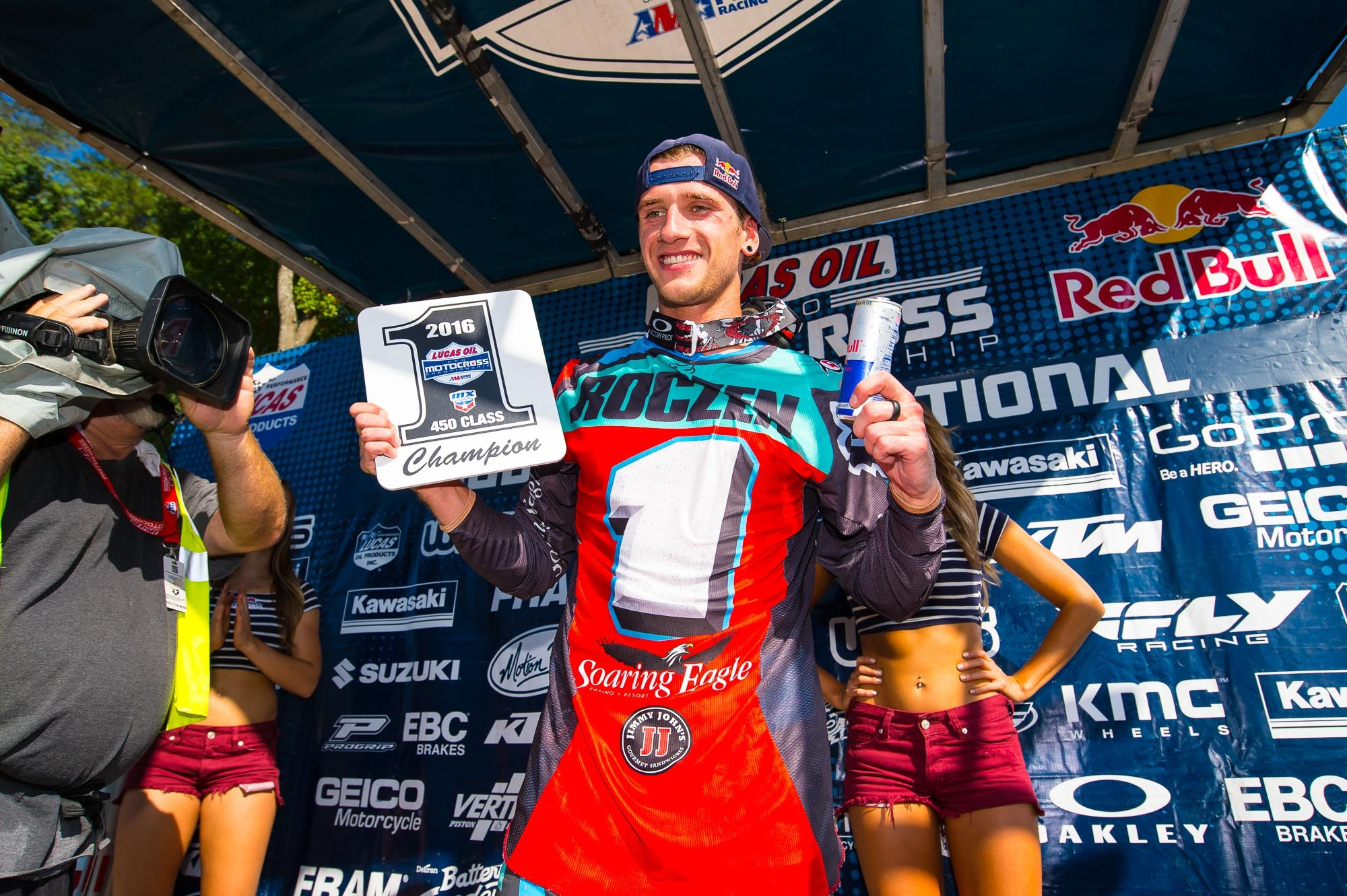 Ken Roczen is once again the 450 AMA National Motocross Champion.