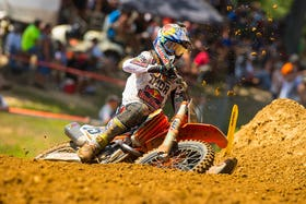 Another podium performance by Musquin today.