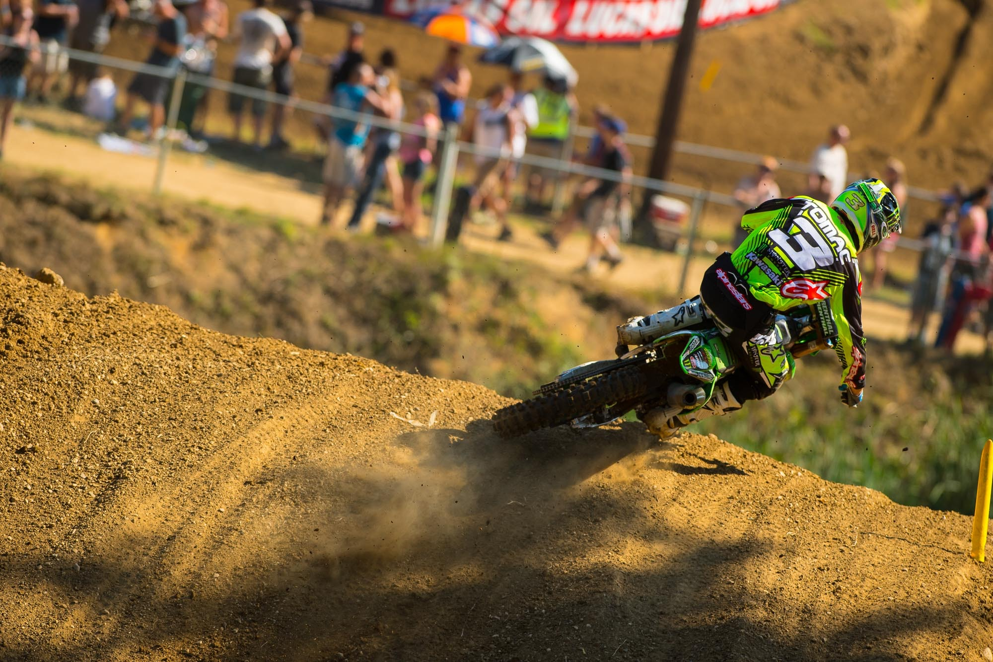 Eli Tomac finished fourth overall.