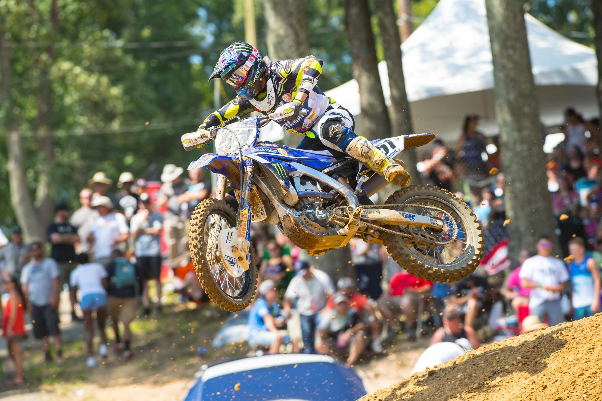 Another solid day at Budds Creek for Justin Barcia.