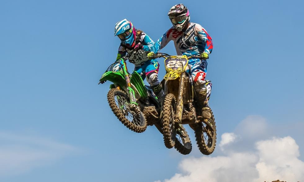Mackenzie Tricker (#28) earned fourth overall in Indiana after finishing third in moto 1 and fourth in moto 2.