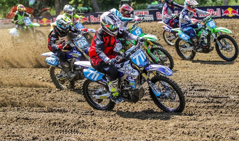 Marissa Markelon went 2-2 for a second overall at round 6 of the WMX Championship in Indiana.