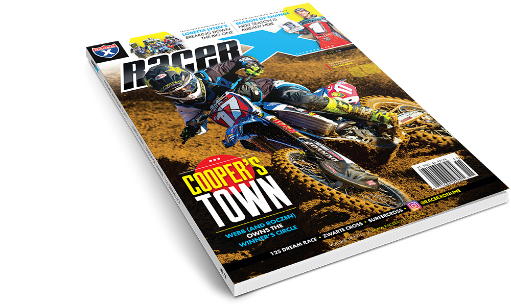 The November 2016 Issue - Racer X Illustrated Motocross Magazine