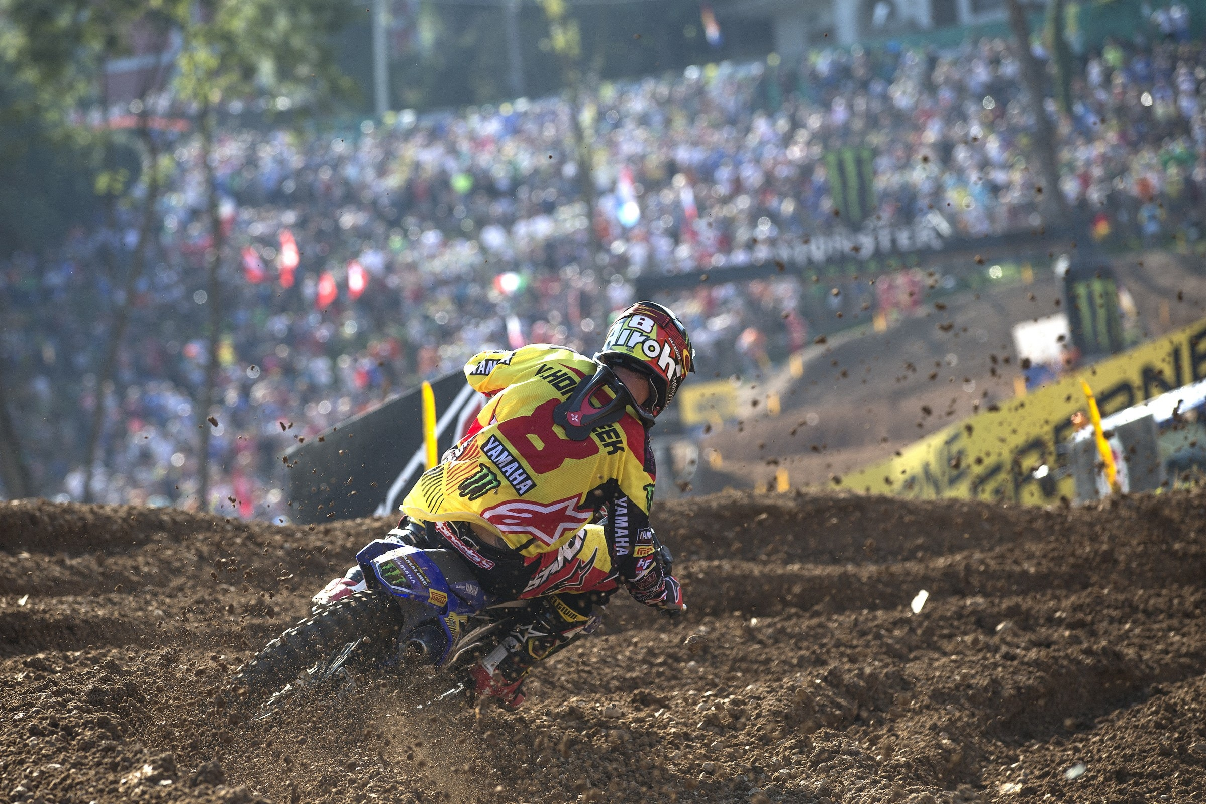 Belgium opted to give Van Horebeek the better of their two gate picks.