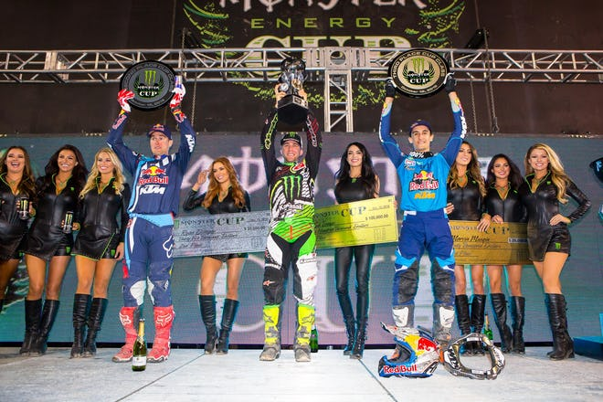 In six years there have been six different winners of the Monster Energy Cup.
