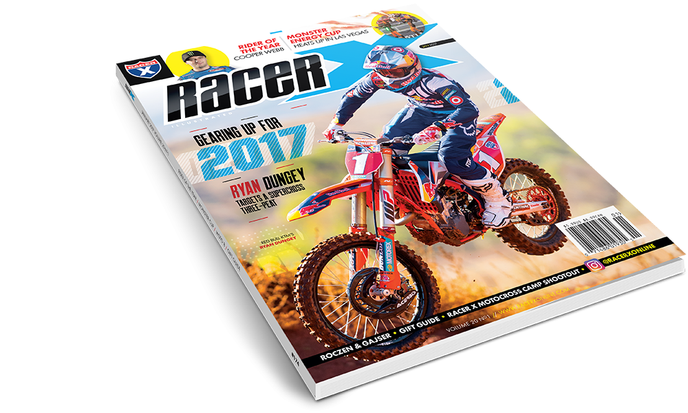 The January 2017 Issue - Racer X Illustrated Motocross Magazine