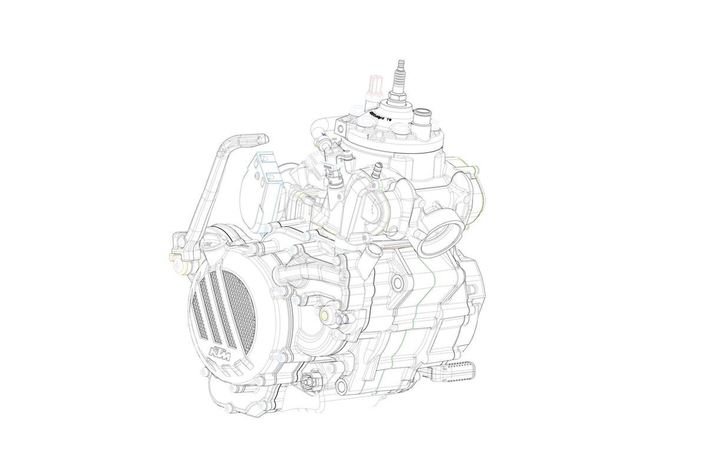 2018 ktm fuel injected 2 stroke. plain stroke fuelinjected ktm twostrokes coming in u002718 with 2018 ktm fuel injected 2 stroke