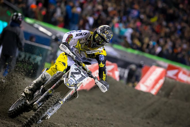 Hey look! Jason Anderson has gotten good starts in three-straight races. He also has a fourth and a third at the last two.