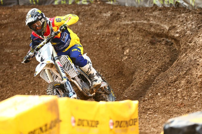 Anderson rode well to get his fifth podium of the year.