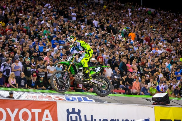 That Cianciarulo took his second win of the season wasn't a complete shock—but that he also found himself on the brink of the title after coming into the race fourth in points certainly was.