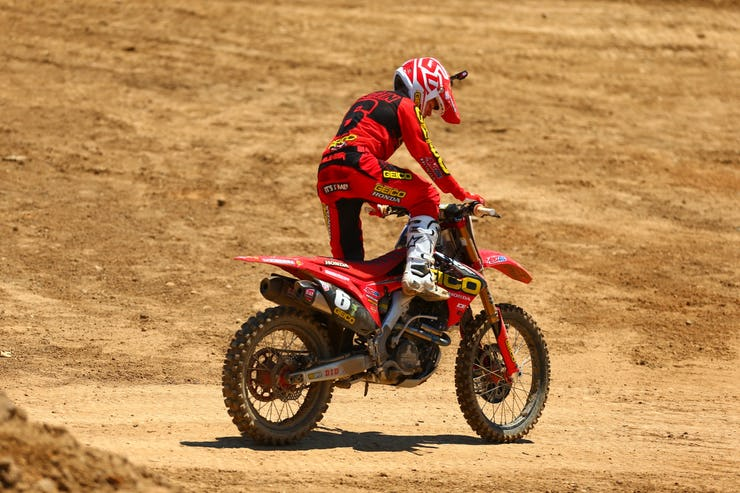 This is the last thing anyone from GEICO Honda wanted to see at Hangtown.