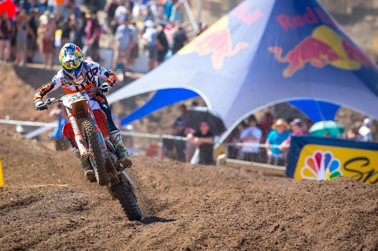 Musquin was great at Hangtown, but he's going to have to find a little more speed if he wants to challenge Tomac.